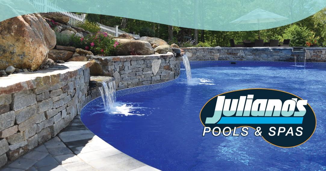 Web design Vernon CT - Juliano's Pools