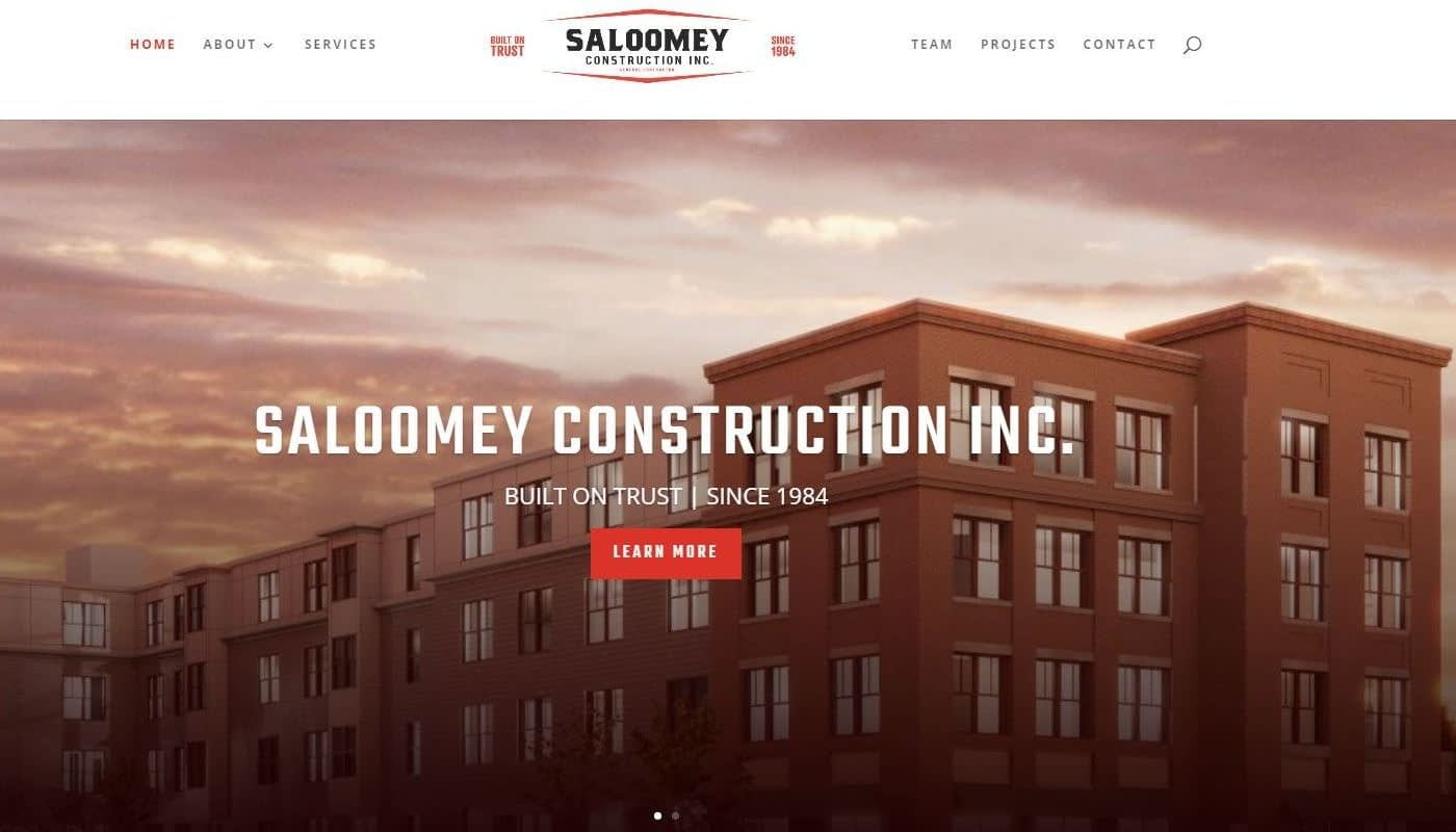 Saloomey WordPress Website Design Western MA