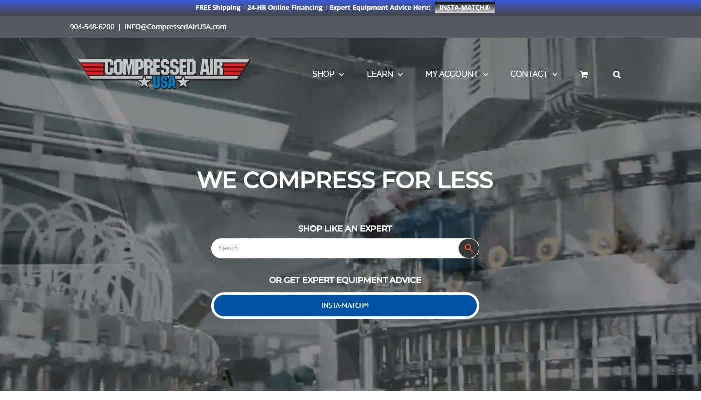 Web designer - Berlin CT - Compressed Air