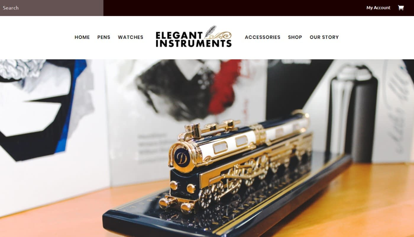 Elegant Instruments website, website design agency Western MA, digital marketing, graphic design MA, marketing services Massachusetts, digital marketing agency