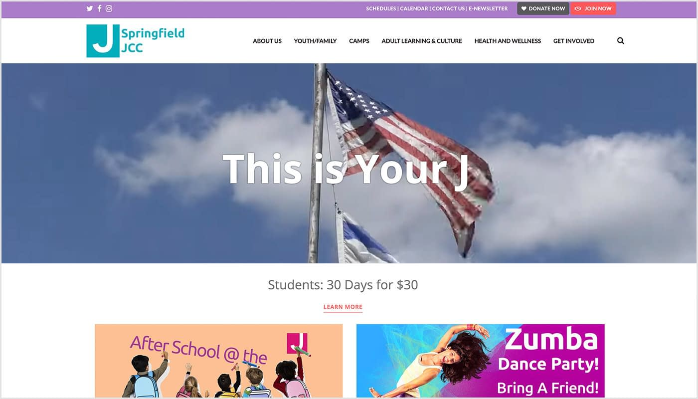 Springfield-JCC-Custom-WordPress-Website-Design-Non-Profit