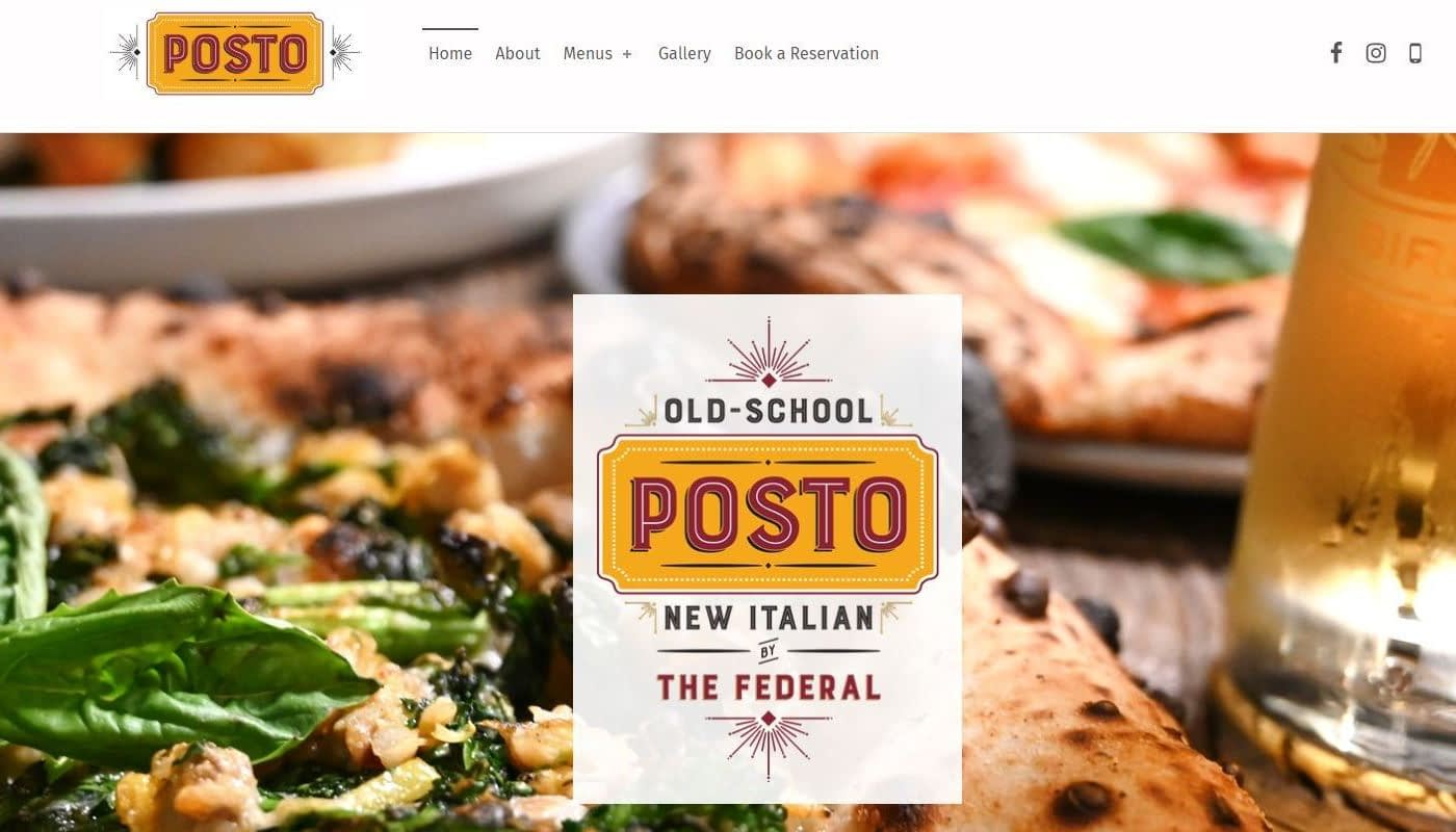 Posto WordPress Website Design Enfield CT